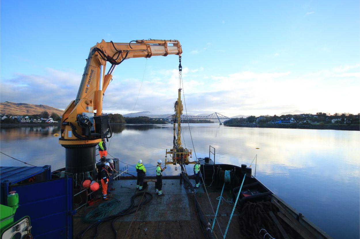 SME ROV Overboarding